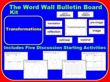 The Word Wall Bulletin Board Kit - Transformations