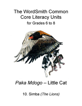 The WordSmith Common Core Literacy Units for Grades 6-8 (10)