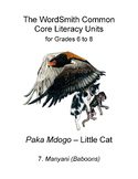 The WordSmith Common Core Literacy Units for Grades 6-8 (7)