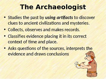 The Work of the Archaeologist