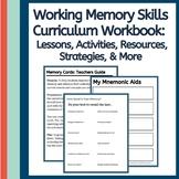 Executive Function Skills Workbook: Working Memory Skills