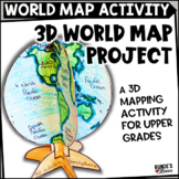 The World - A Globe Craftivity for Social Studies