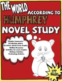 The World According To Humphrey - Novel Study - 155 Pages