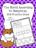 The World According to Humphrey (Skill Practice Sheet)