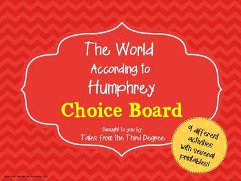 The World According to Humphrey Choice Board