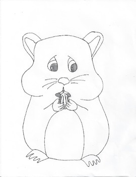 The World According to Humphrey - Hamster Sketch