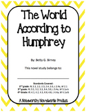 The World According to Humphrey Novel Study / Key