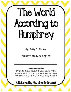 The World According to Humphrey Novel Study / Key