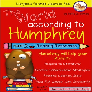 The World According to Humphrey Reading Responses