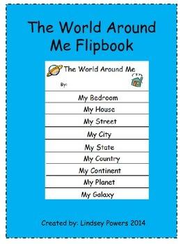 The World Around Me Flipbook