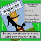 The World Cup 2018 - Reading comprehension activity