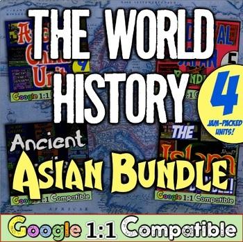 The World History Asian Bundle! India, China, Medieval Jap
