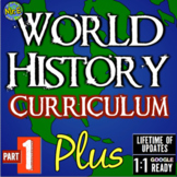 World History Curriculum | Part 1 PLUS Curriculum | Distance Learning Ready