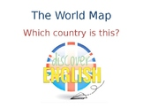 The World Map ESL - FREE SAMPLE