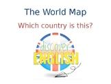 The World Map ESL PPT