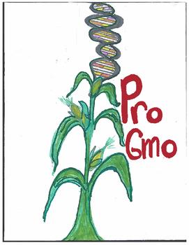 """PRO GMO Argument Lesson """"The World Needs GMOs"""": Common Core Unit"""