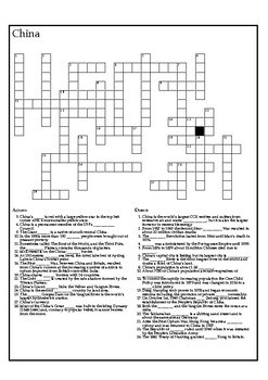 The World News Crossword - February 18th, 2018