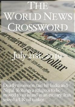 The World News Crossword - July 21st, 2019