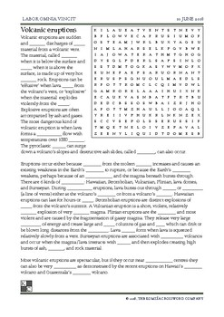 The World News Crossword June 10th, 2018