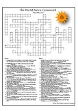 The World News Crossword (May 28th, 2017)