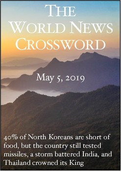 The World News Crossword - May 5, 2019