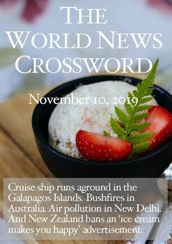 The World News Crossword - November 10, 2019
