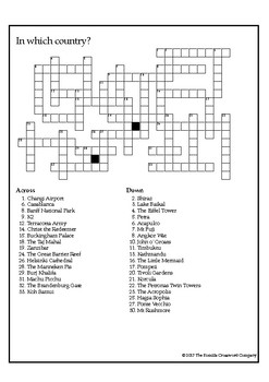 The World News Crossword - Sept 10th, 2017