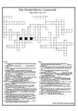 The World News Crossword - Sept 10th, 2017