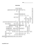 The World Today Vocabulary Crossword for World History