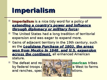 Age of Imperialism - American Imperialism