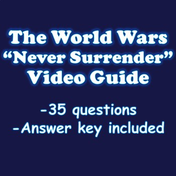 The World Wars Never Surrender Video Guide