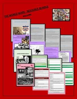 The World Wars - Resource Bundle