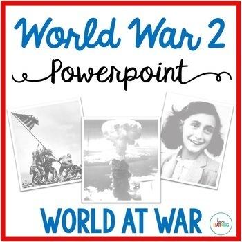 The World at War {A World War 2 Lesson}