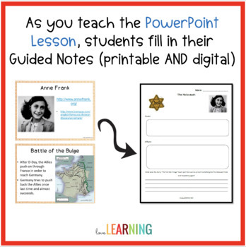 The World at War PowerPoint and Guided Notes