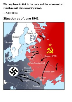 The World at War Episode 5 Barbarossa (June – December 1941) Video Guide