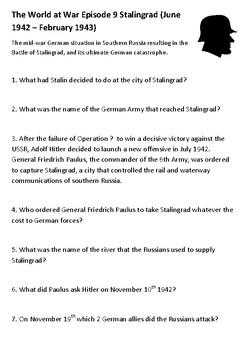 The World at War Episode 9 Stalingrad