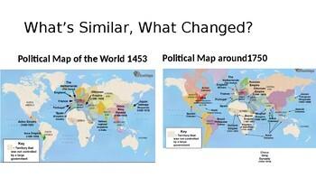 The World in 1750 UNIT 1 NEW YORK STATE FRAMEWORK by JenniRae67