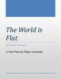 The World is Flat Unit Plan with a Variety of Activities a