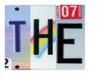 The World is and Open Book Quote License Plates