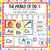 The World of Dr. S. Word Wall with Sight Words {Editable!}
