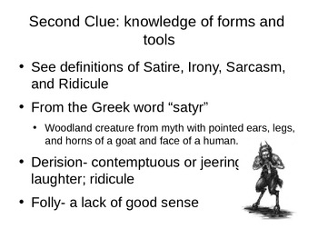 The World of Satire PPT