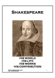 The World of Shakespeare Resource Book