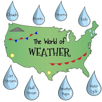 The World of Weather Review Stations (NC 5th grade Science EOG)