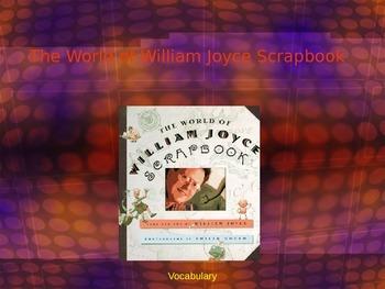 """The World of William Joyce Scrapbook"" Vocabulary"