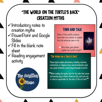 The World on the Turtle's Back/ Creation Myth Notes