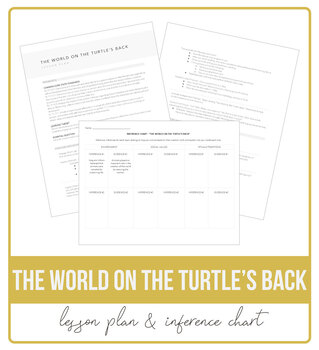 The World on the Turtle's Back Lesson Plan