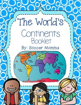 The World's Continents Booklet