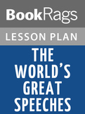 The World's Great Speeches Lesson Plans