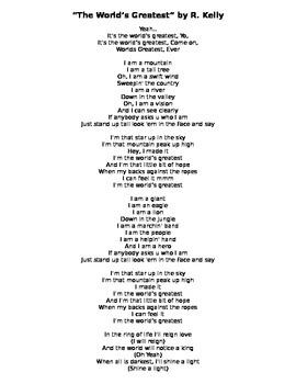 The World's Greatest - R. Kelly Lyrics