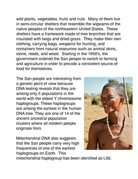 The World's Most Ancient People: The San Bushmen